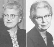 Dr. Pearl Kendrick and Dr. Grace Eldering