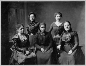 Officers of the Women's League, Newport, R.I., 1899, Library of Congress