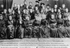 NAWSA leadership, 1892, C.C. Catt Albums, Bryn Mawr College Library