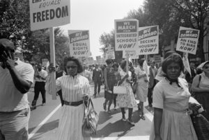 March on Washington for Jobs and Freedom, August 28, 1963, Library of Congress