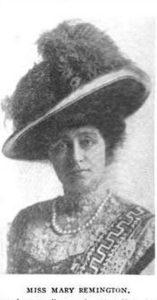 Miss Mary Remington,