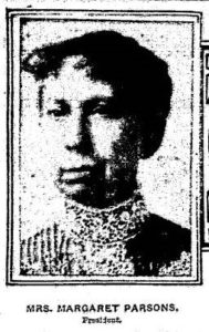 Margaret M. Parsons, Grand Rapids Herald, February 2, 1908.