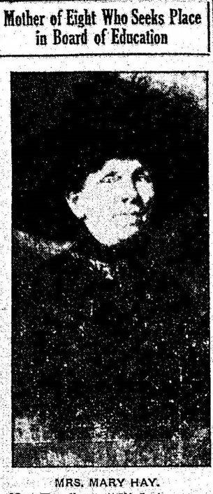 February 23, 1913, Mary Hay, Grand Rapids Herald