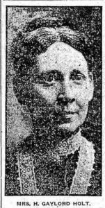 Annette Holt, Grand Rapids Herald, March 31, 1914.