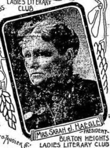 Sarah Heagle, Grand Rapids Herald, September 17, 1905.