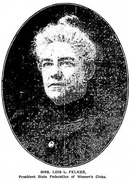 Lois L. Felker, Grand Rapids Herald, October 18, 1905.