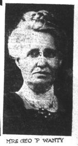 Emma Nichols Wanty, Grand Rapids Herald, January 26, 1919.