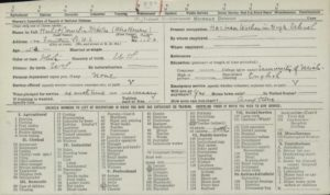 April 27, 1918, Defense Card for Cornelia Steketee Hulst, Grand Rapids Public Library